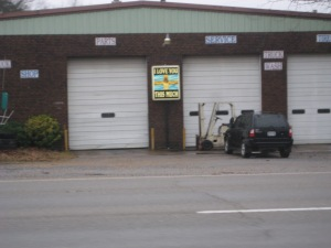 An automotive business on the outskirts of Prattville, Alabama.