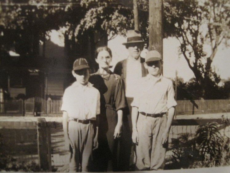 Crother Louis Foster and family