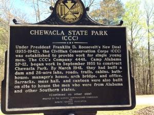 Chewacla Historic Sign