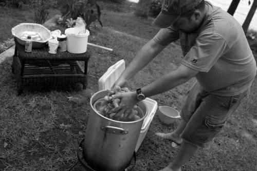 foster shrimp boil