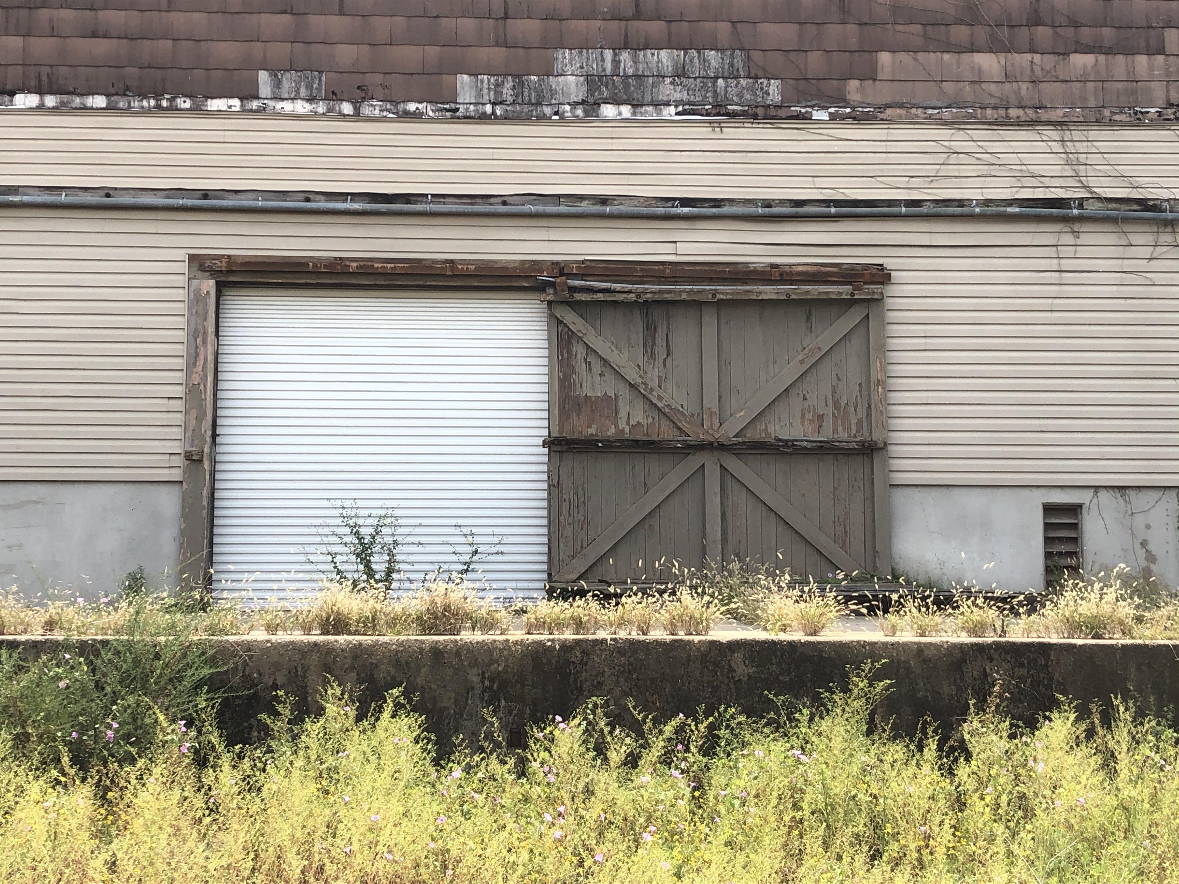 Warehouse door west Montgomery Alabama