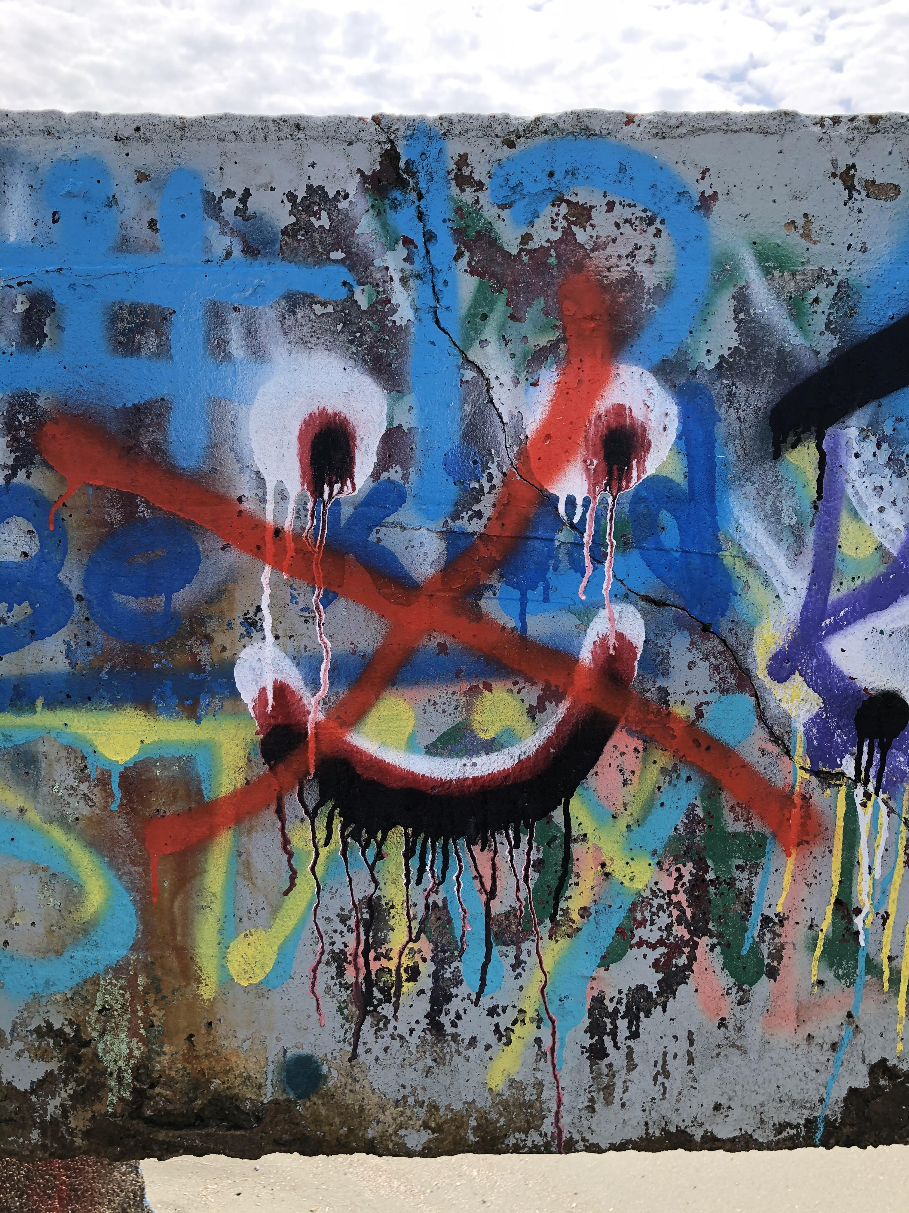 Graffiti Folly Beach South Carolina