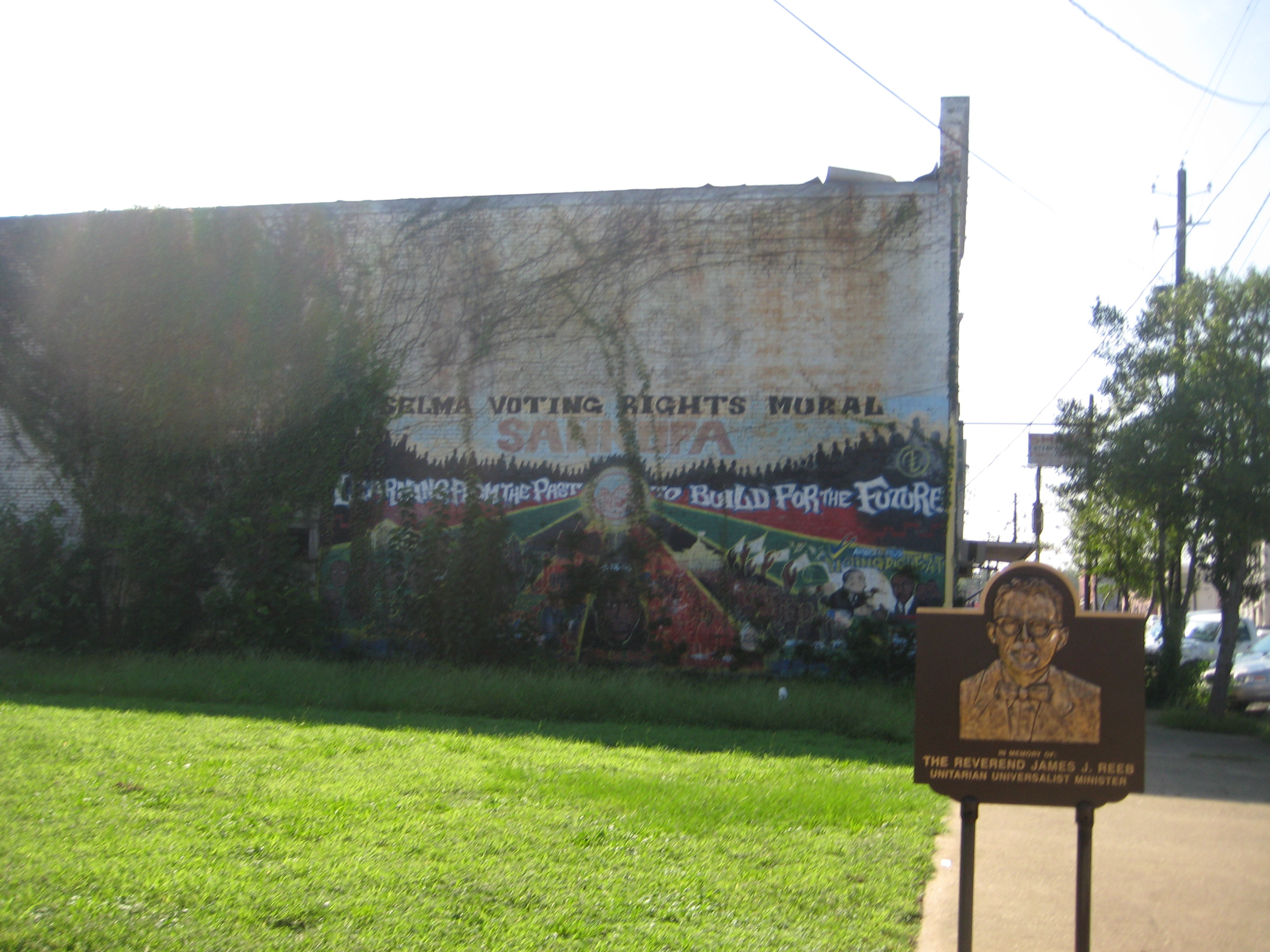 James Reeb memorial Selma Alabama