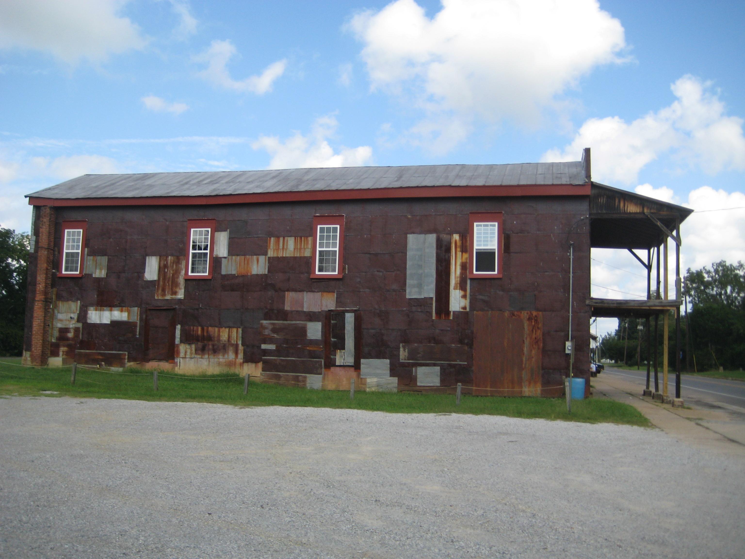 Big Red Barn at Rural Studio Newbern Alabama