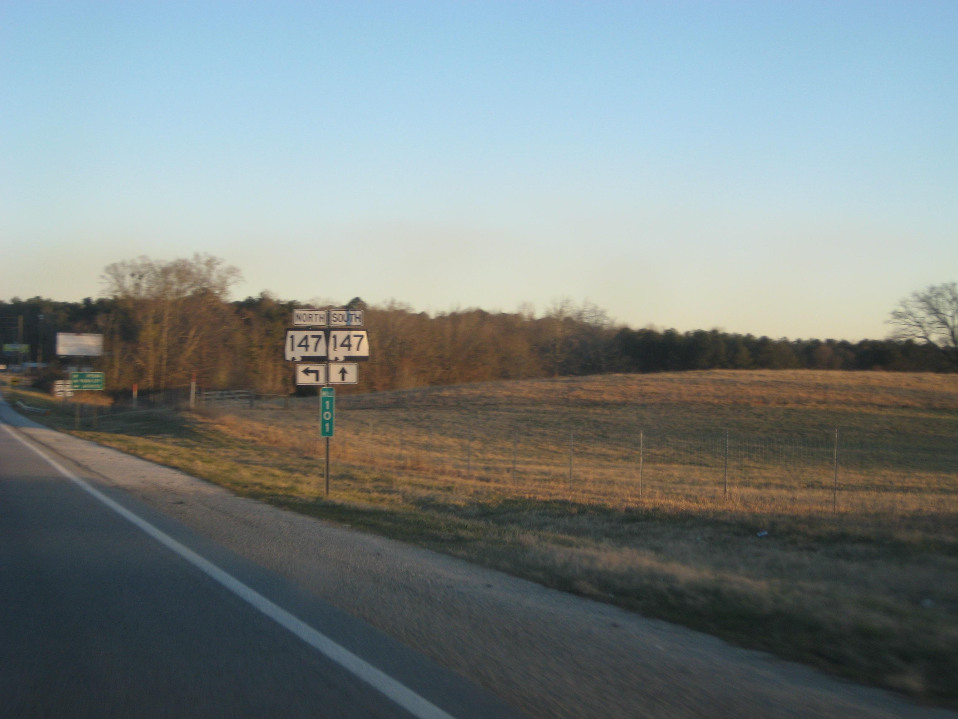 Highway 147 Lee County, Alabama