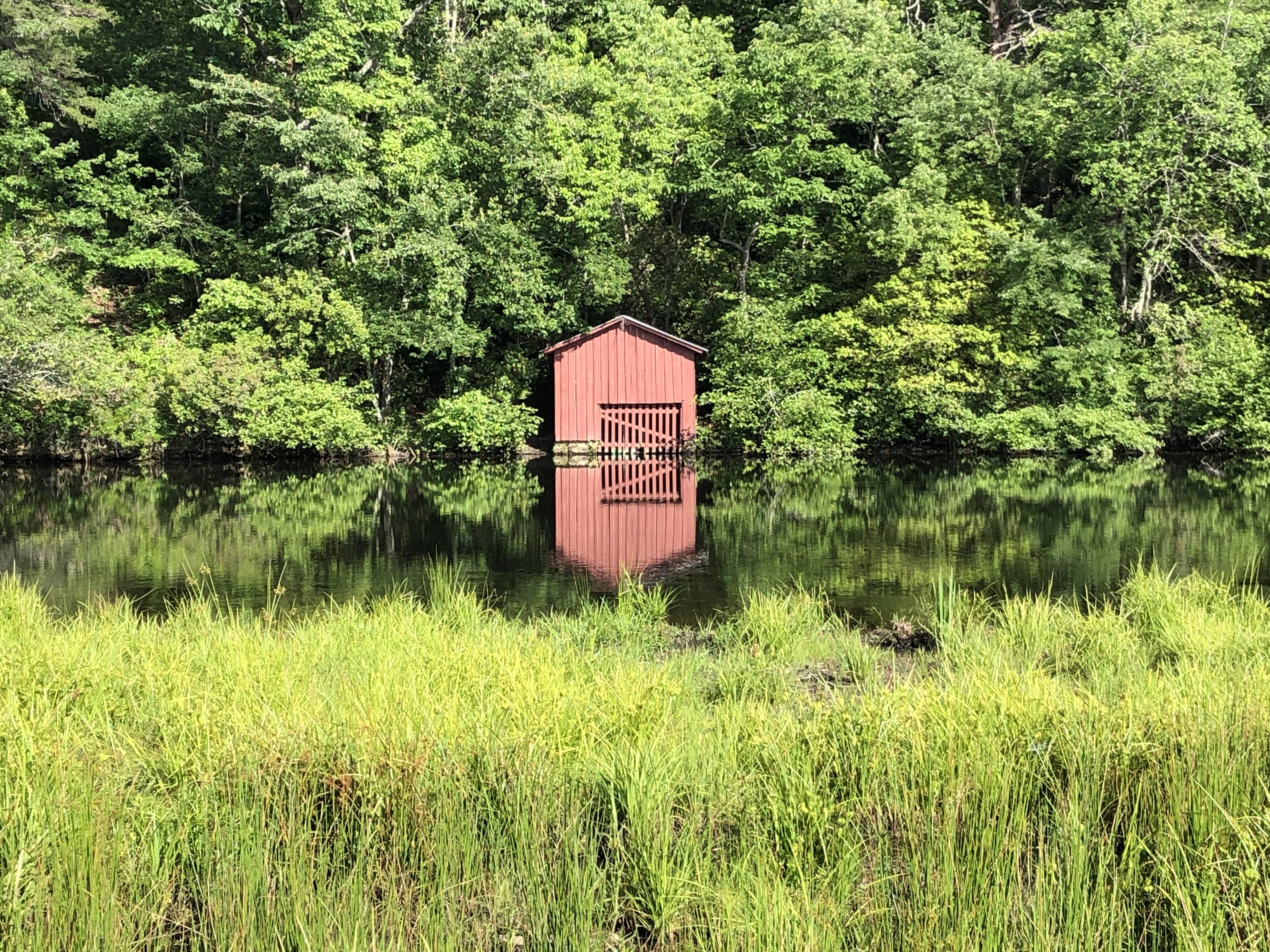 Little River boathouse Desoto